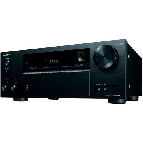 Onkyo TX 7.2 Channel AV Network Receiver Wi-Fi Black - NR676
