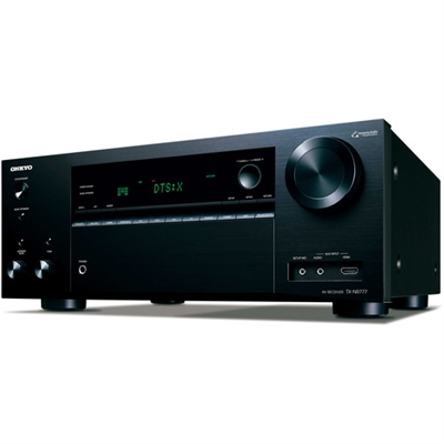 Onkyo 7.2 Channel AV Network Receiver Wi-Fi Black - TX-NR777  ( 4TH OF JULY SALE STARTS NOW)