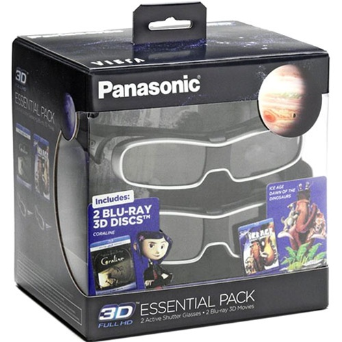 Panasonic 3D Glasses Bundle