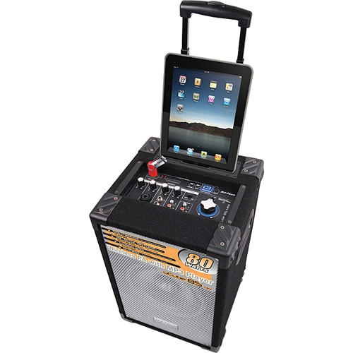DJ-Tech Portable PA System with iPad Dock - UCUBE 85 MKII