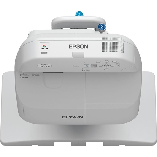 Epson BrightLink PRO 1420Wi WXGA Interactive 3LCD Projector - V11H612520