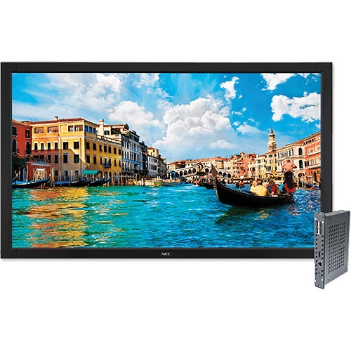 "NEC 55"" Full HD Widescreen Edge-Lit LED LCD Display and Digital Media Player Bundle - V552-DRD"