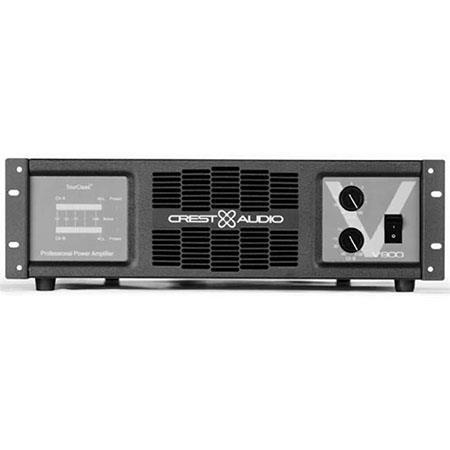 Crest Audio 2-Channel Professional Amplifier 1100W at 4Ohms Bridged Power - V900CG220V