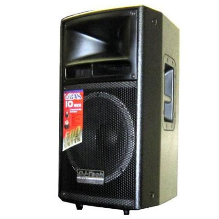 "DJ Tech VEGAS Passive 10"" 2-Way Professional Speaker System - VEGAS10MKII"