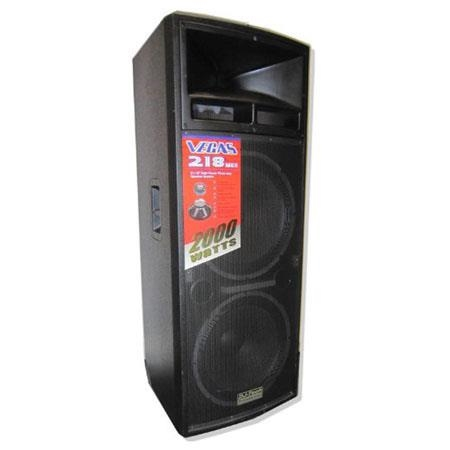 DJ Tech VEGAS series Passive 3-Way Professional Speaker System - VEGAS218MKII