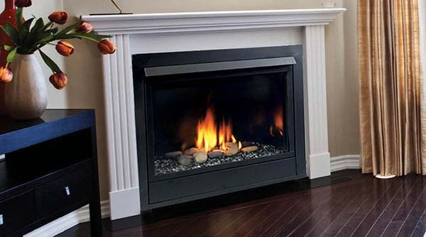 Majestic 24 Inch Vent Free Fireplace System IPI Control 28000 BTU Natural Gas traditional style - VFC24LNI