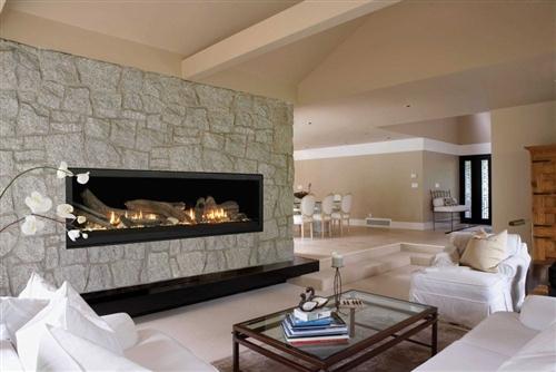 "Monessen Aura 70"" Linear Direct Vent Fireplace - VWDV70NTSCSB"