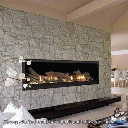 """Monessen Aura 70"""" Linear Direct Vent Fireplace - VWDVP70NTSC"""