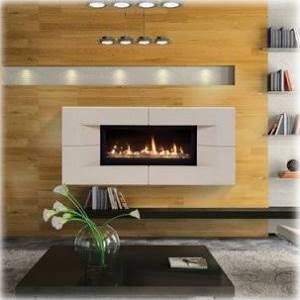 "Majestic 60"" Liquid Propane Echelon Top Vent Wideview Direct Vent Fireplace - WDVP600PTSC"