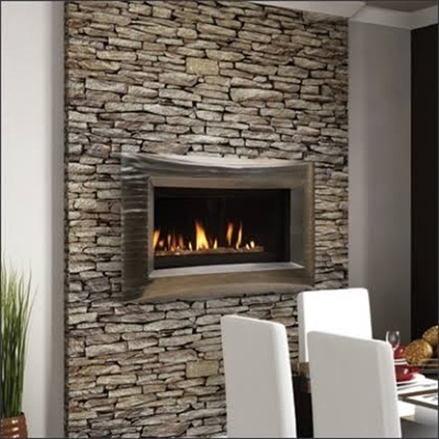 "Majestic 42"" See-Thru Serenade Direct Vent Wide View Fireplace - WDVPST500NTSC"