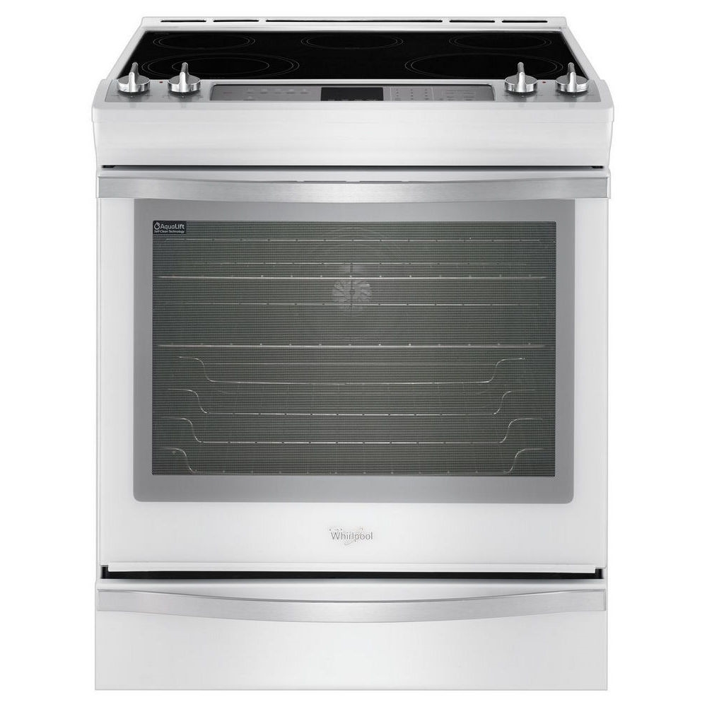 "Whirlpool 30"" Slide-in Smoothtop Electric Range - WEE760H0DH"