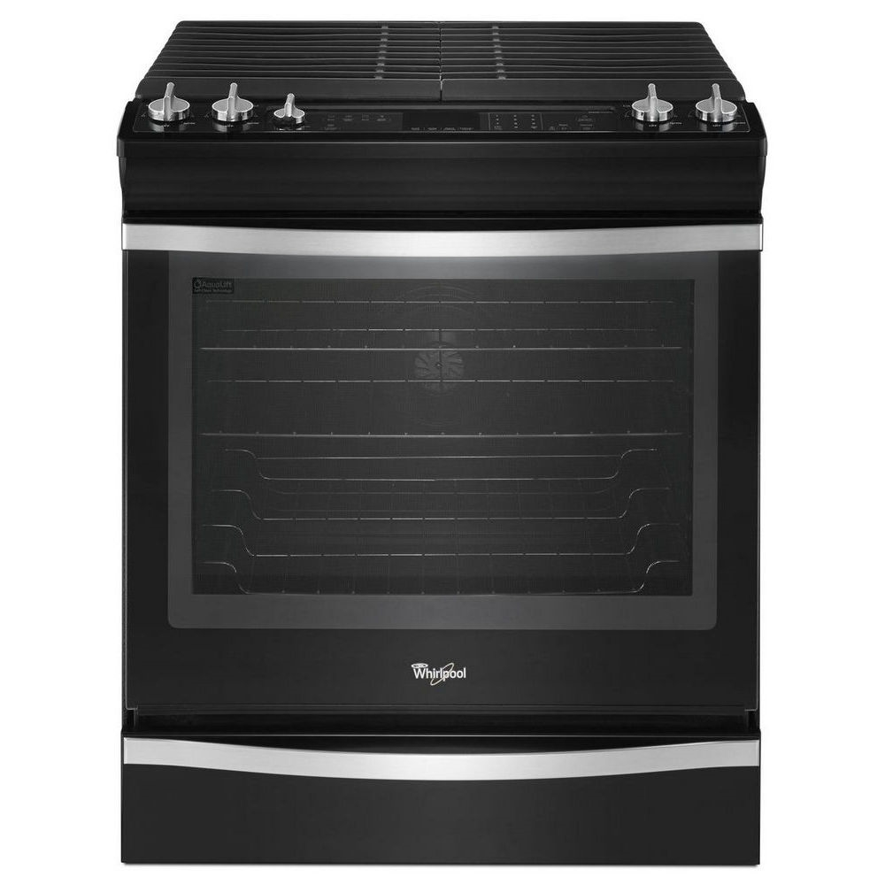 Whirlpool 5.8 Cu. Ft. Slide-in Self Clean Convection Gas Range - WEG760H0DE