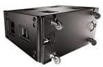 QSC dual 18-inch PASSIVE sub woofer Black - WL218-SW-BK