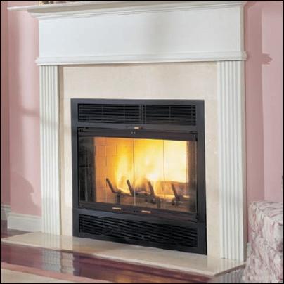 "Majestic WarmMajic 36"" Heat Circulating Wood Burning Fireplace - WMC36"