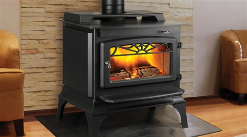 """Majestic Windsor 20.5"""" Non-Catalytic Woodburning Stove - WR1000L02"""