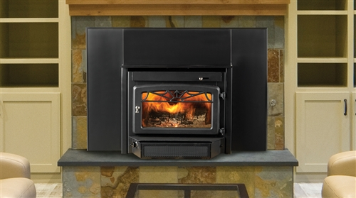 Majestic Windsor Blackplate Steel Woodburning Fireplace - WR2500X02