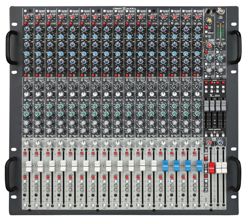 Crest Audio X 20rm Rackmount Mixer - X 20R  ( 3 Day Price Blast )