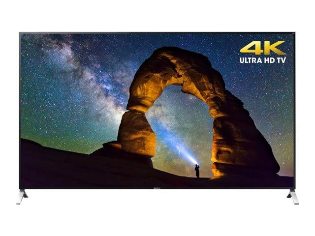 SONY 75INCH CLASS UHD 4K LED SMART HDTV - XBR75X910C - RESIDENTIAL USA VERSION -SONY ORIGINAL PANEL - FULL ONE YEAR MANUFACTURERS WARRANTY!