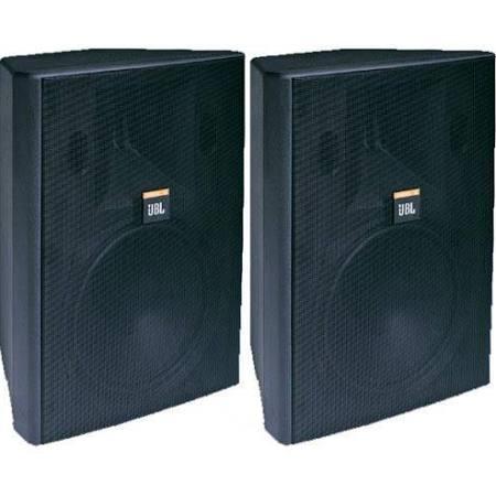 "JBL 8"" 2-Way Vented Speaker Pair Black - control 28  ( Holiday Price Blitz)"