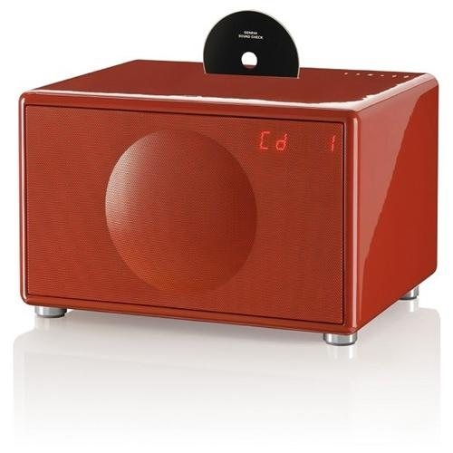 Model L Wireless All-in-One Stereo System (Red) - modellwireless-red