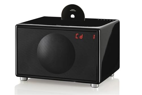 Model S Wireless All-in-One Stereo System (Black) - modelswireless-bl