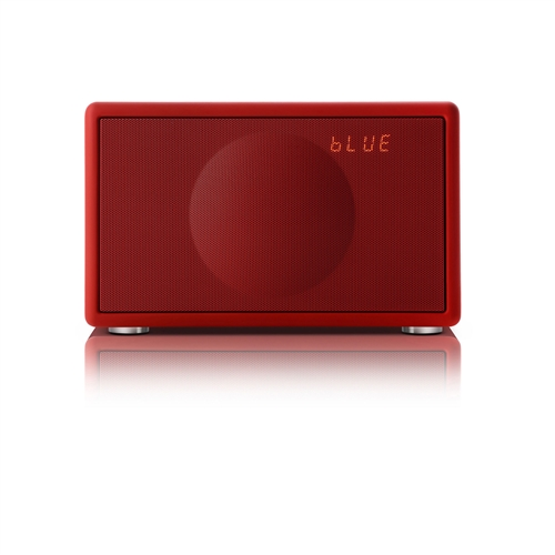 Model S Wireless All-in-One Stereo System (Red) - modelswireless-red